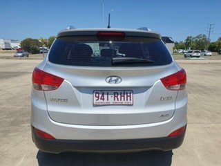 2010 Hyundai ix35 LM Elite AWD Silver 6 Speed Sports Automatic Wagon.
