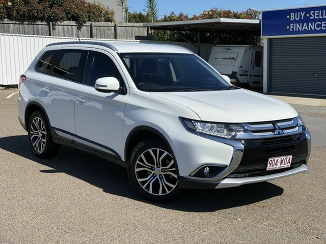 Used Mitsubishi Outlander ZK MY16 LS 2WD Chermside, 2016 Mitsubishi Outlander ZK MY16 LS 2WD White 6 Speed Constant Variable Wagon