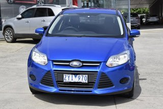 2013 Ford Focus LW MkII Ambiente Blue 5 Speed Manual Hatchback.