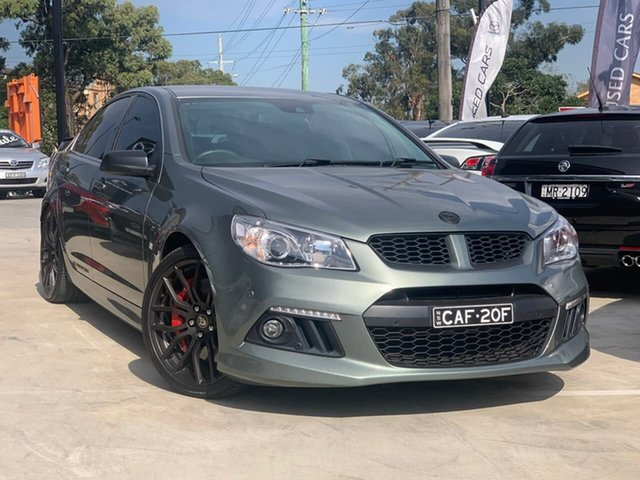 Used Holden Special Vehicles ClubSport Gen-F MY14 R8 Liverpool, 2013 Holden Special Vehicles ClubSport Gen-F MY14 R8 Grey 6 Speed Manual Sedan