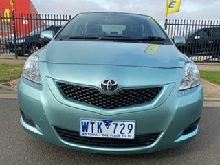2008 Toyota Yaris NCP93R YRS Green 4 Speed Automatic Sedan