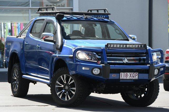 Used Holden Colorado RG MY17 LTZ Pickup Crew Cab 4x2 Windsor, 2017 Holden Colorado RG MY17 LTZ Pickup Crew Cab 4x2 Blue 6 Speed Sports Automatic Utility