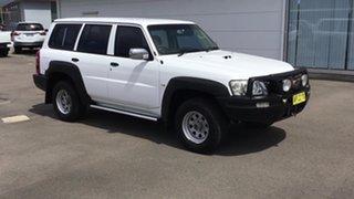 2007 Nissan Patrol GU 5 MY07 DX White 4 Speed Automatic Wagon.