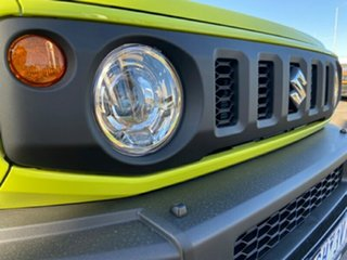2020 Suzuki Jimny JB74 Yellow 4 Speed Automatic Hardtop