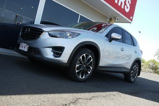 2016 Mazda CX-5 KE1022 Akera SKYACTIV-Drive i-ACTIV AWD Silver 6 Speed Sports Automatic Wagon.