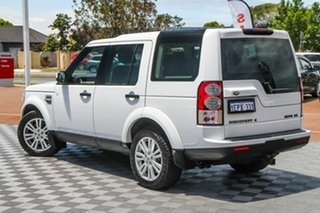 2012 Land Rover Discovery 4 Series 4 MY12 SDV6 CommandShift SE White 6 Speed Sports Automatic Wagon.