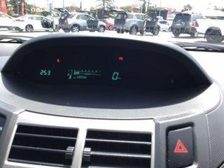 2011 Toyota Yaris NCP90R MY11 YR White 5 Speed Manual Hatchback