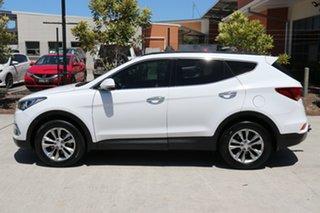 2016 Hyundai Santa Fe DM2 MY15 Elite White 6 speed Automatic Wagon