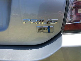 2008 Toyota Prius NHW20R MY06 Upgrade Hybrid Silver Continuous Variable Hatchback