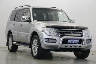 2018 Mitsubishi Pajero NX MY18 Exceed Silver 5 Speed Sports Automatic Wagon