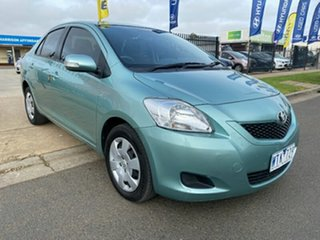 2008 Toyota Yaris NCP93R YRS Green 4 Speed Automatic Sedan.