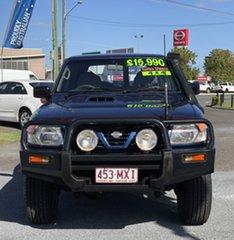 2000 Nissan Patrol GU II ST Blue 4 Speed Automatic Wagon.