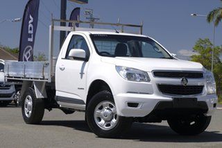 2014 Holden Colorado RG MY14 LX 4x2 Summit White 6 Speed Sports Automatic Cab Chassis.