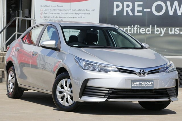 Pre-Owned Toyota Corolla ZRE172R Ascent S-CVT Guildford, 2019 Toyota Corolla ZRE172R Ascent S-CVT Silver Ash 7 Speed Constant Variable Sedan