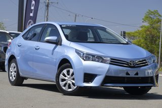 2015 Toyota Corolla ZRE172R Ascent S-CVT Blue Mist 7 Speed Constant Variable Sedan.