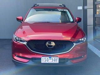 2018 Mazda CX-5 KF4W2A Akera SKYACTIV-Drive i-ACTIV AWD Red 6 Speed Sports Automatic Wagon.