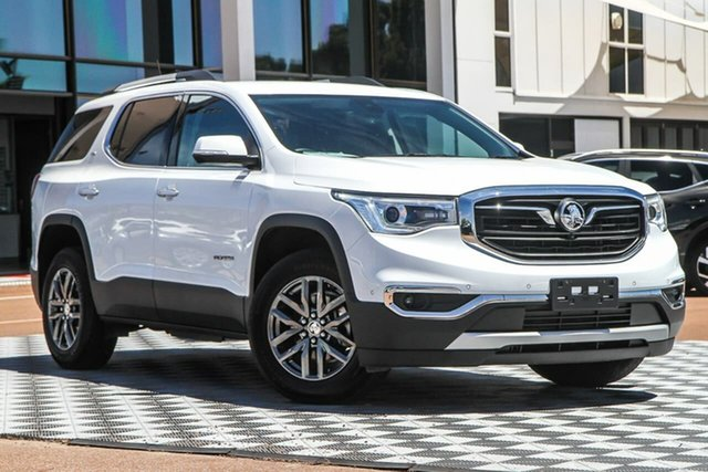Used Holden Acadia AC MY19 LTZ 2WD Attadale, 2019 Holden Acadia AC MY19 LTZ 2WD White 9 Speed Sports Automatic Wagon