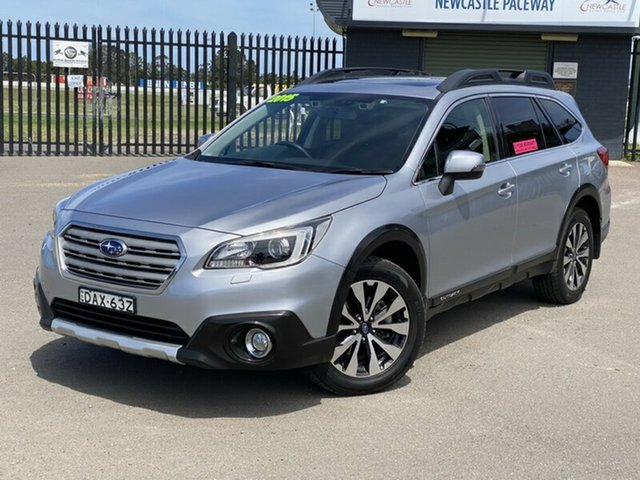 Used Subaru Outback B6A MY15 2.5i CVT AWD Premium Newcastle, 2015 Subaru Outback B6A MY15 2.5i CVT AWD Premium Grey 6 Speed Constant Variable Wagon