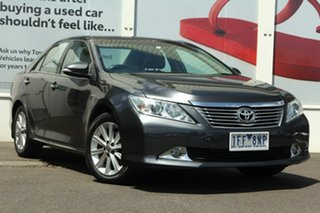 2012 Toyota Aurion GSV50R Prodigy Grey 6 Speed Sports Automatic Sedan.