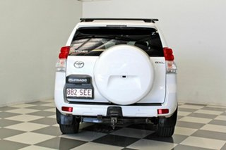 2012 Toyota Landcruiser Prado GRJ150R 11 Upgrade GXL (4x4) White 5 Speed Sequential Auto Wagon