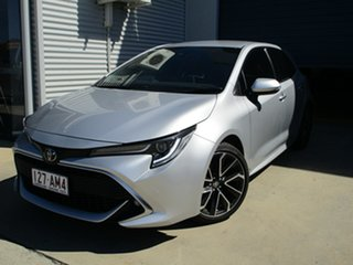 2019 Toyota Corolla Mzea12R ZR Silver 10 Speed Constant Variable Hatchback.