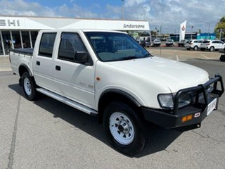 1997 Holden Rodeo R7 LX Crew Cab White 5 Speed Manual Utility.