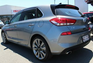 2017 Hyundai i30 PD MY18 SR D-CT Premium Grey 7 Speed Sports Automatic Dual Clutch Hatchback.