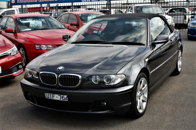 Used BMW 3 Series E46 MY05 325Ci Steptronic Cheltenham, 2006 BMW 3 Series E46 MY05 325Ci Steptronic Grey 5 Speed Sports Automatic Convertible