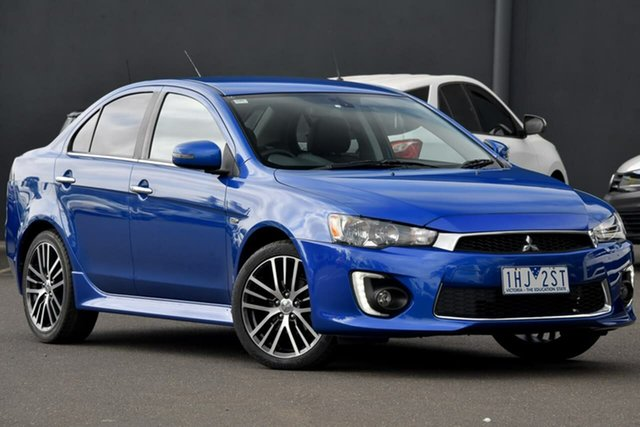 Used Mitsubishi Lancer CF MY16 LS Moorabbin, 2016 Mitsubishi Lancer CF MY16 LS Blue 6 Speed Constant Variable Sedan