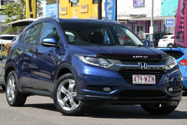Used Honda HR-V MY16 VTi-S Windsor, 2016 Honda HR-V MY16 VTi-S Blue 1 Speed Constant Variable Hatchback