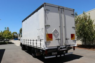 2001 Nissan UD White Manual Curtain Sider