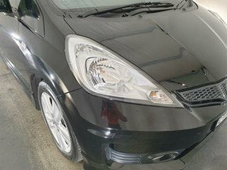 2012 Honda Jazz GE MY12 VTi-S Black 5 Speed Sports Automatic Hatchback.