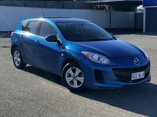 Used Mazda 3 BL10F2 MY13 Neo Chermside, 2013 Mazda 3 BL10F2 MY13 Neo Blue 6 Speed Manual Hatchback
