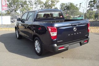 2020 Ssangyong Musso Q200 MY20.5 ELX Crew Cab Blue 6 Speed Sports Automatic Utility.