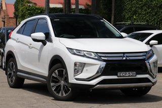 2019 Mitsubishi Eclipse Cross YA MY19 Exceed (AWD) White Continuous Variable Wagon.