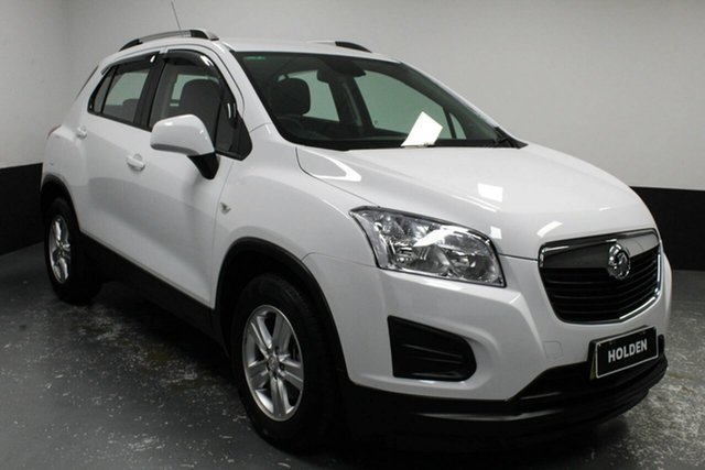 Used Holden Trax TJ MY15 LS Cardiff, 2015 Holden Trax TJ MY15 LS White 6 Speed Automatic Wagon