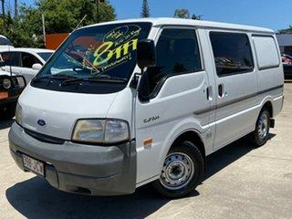 2002 Ford Econovan JH SWB White 5 Speed Manual Van.