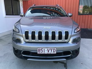 2015 Jeep Cherokee KL MY15 Limited Silver 9 Speed Sports Automatic Wagon.