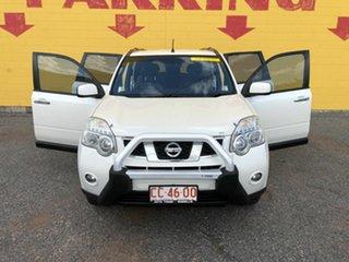 2011 Nissan X-Trail White 6 Speed Automatic Wagon.