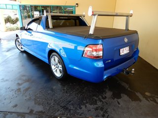 2010 Holden Commodore VE MY09.5 SV6 60th Anniversary Blue 5 Speed Automatic Utility.