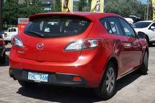 2011 Mazda 3 BL10F1 MY10 Neo Red 6 Speed Manual Hatchback