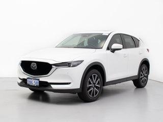 2019 Mazda CX-5 MY19 (KF Series 2) GT (4x4) White 6 Speed Automatic Wagon.