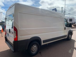2012 Fiat Ducato Series II MY12 Mid Roof LWB MTA White 6 Speed Sports Automatic Single Clutch Van