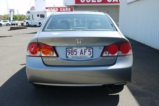 2006 Honda Civic 8th Gen MY07 VTi Silver 5 Speed Automatic Sedan