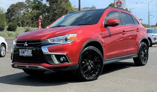 2018 Mitsubishi ASX XC MY19 Exceed 2WD Red/Black 1 Speed Constant Variable Wagon