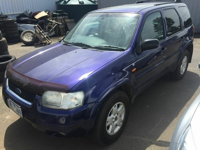 Used Ford Escape ZB Limited Traralgon, 2004 Ford Escape ZB Limited Blue 4 Speed Automatic SUV