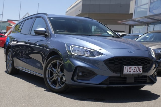 Used Ford Focus SA 2019.75MY ST-Line Newstead, 2019 Ford Focus SA 2019.75MY ST-Line 21 8 Speed Automatic Wagon