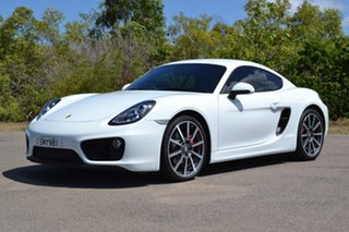 2015 Porsche Cayman 981 MY16 PDK White 7 Speed Sports Automatic Dual Clutch Coupe