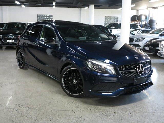 Used Mercedes-Benz A-Class W176 808+058MY A200 D-CT Albion, 2018 Mercedes-Benz A-Class W176 808+058MY A200 D-CT Blue 7 Speed Sports Automatic Dual Clutch