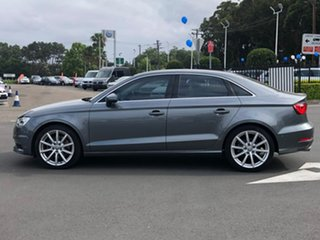 2015 Audi A3 8V MY16 Ambition S Tronic Grey 7 Speed Sports Automatic Dual Clutch Sedan